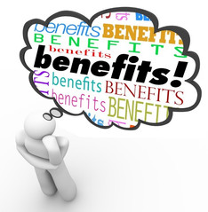 Another good reason for getting a benefit check