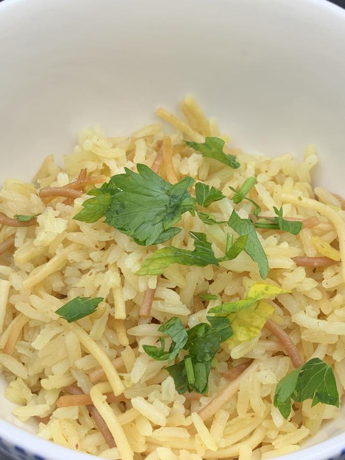 Nostalgia Foods: Homemade Rice a Roni ish (aka rice pilaf)