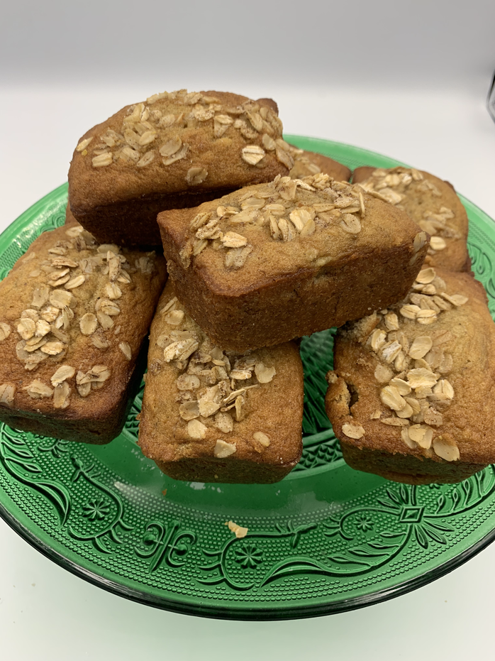 Do Ahead Breakfast Ideas for When You're on the Run: Mini Banana Bread Loaves