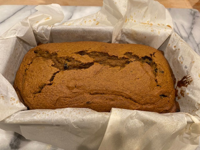 Food That Smells Like Fall: Cranberry Pumpkin Bread