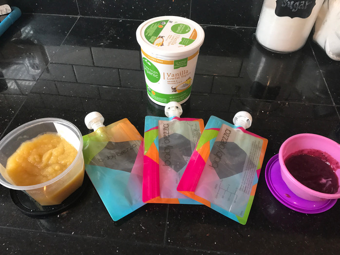 Baby Food Making: Buying pouches vs. making ones own...and is it worth the hassle (also my tried and