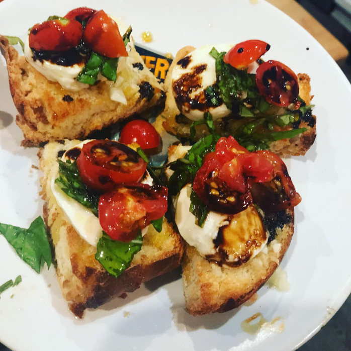 Summer Eats: Bruschetta, Simple and Satisfying