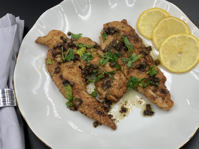 A Meal for Mom: Lemon Chicken Piccata