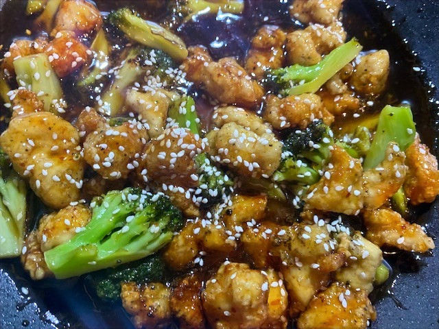 Tried and True Staples for Weeknight Dinners Part 2: Sesame Orange Chicken and Broccoli