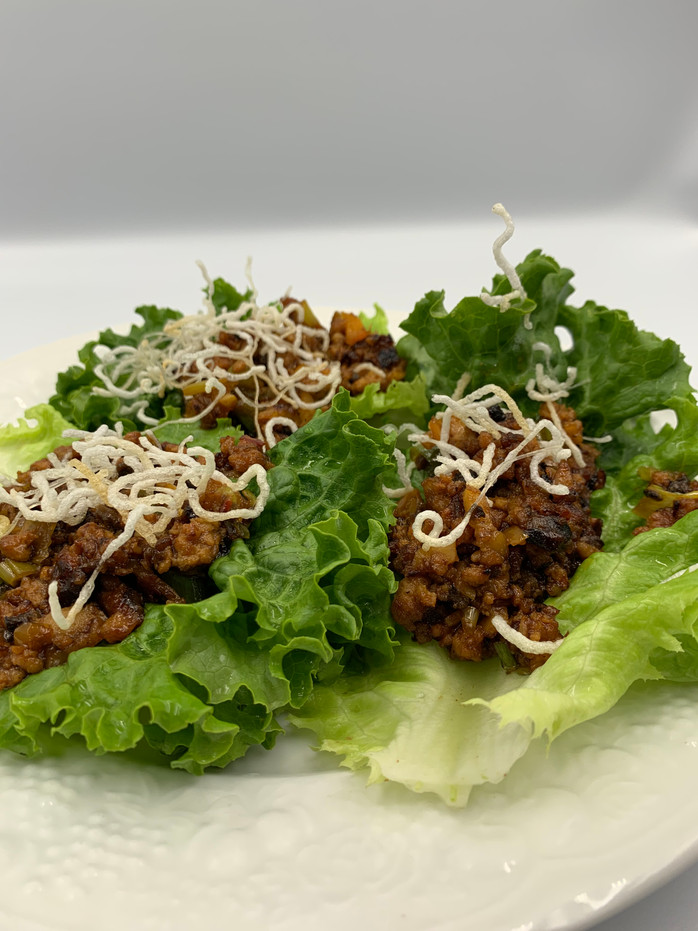 Borrowed Time due to Holiday Season...Healthy, Flavorful and Fast Dinner: Chicken Lettuce Wraps