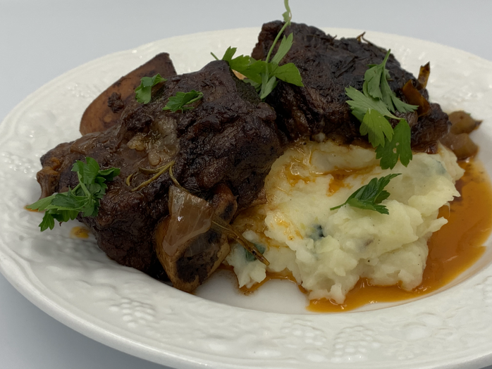For the Days We Want Savory, Hearty and Low and Slow Cooking: Red Wine Braised Short Ribs