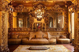 Casa Museu Fernando Casto Sala Dourada.j