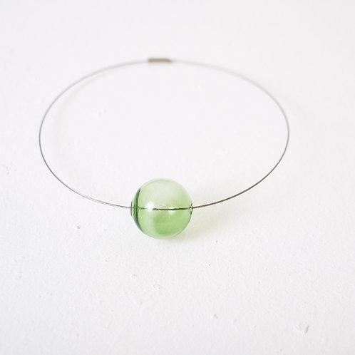 Бледно-зеленое стекло 223