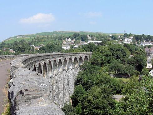 taff trail cefn coed viaduct