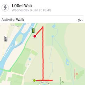 1 Mile Walk