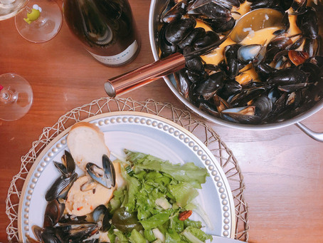 Spicy Sambal Mussels