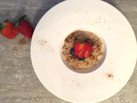 Berry Quinoa Porridge