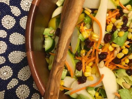 The Everything Salad with Balsamic Vinaigrette