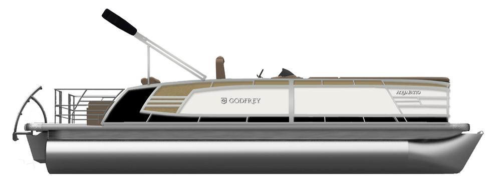 2020 AquaPatio 259 DFL TT MP PT Mercury 200