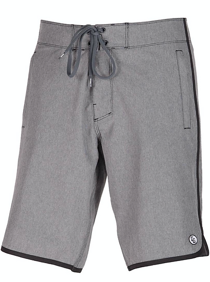 309 Heather Grey Fit Boardshorts