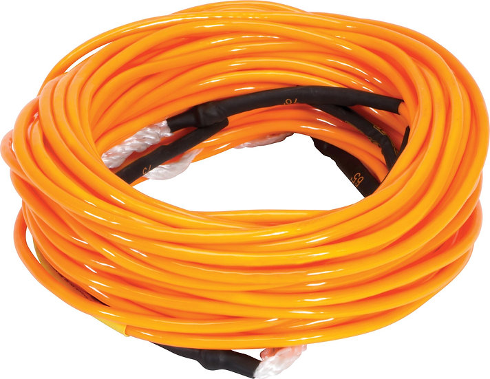 Dyneema Air Mainline Neon Orange - 80' w/ 3-5' Sections
