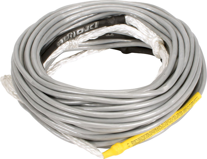 Dyneema Air Mainline Silver - 80' w/ 3-5' Sections