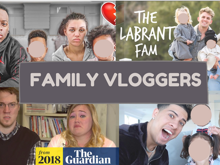Family Vloggers and everything wrong with them.