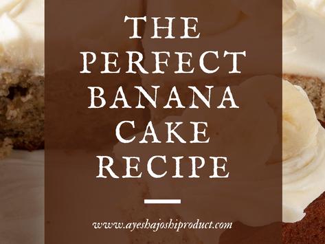 Coffee Banana cake recipe