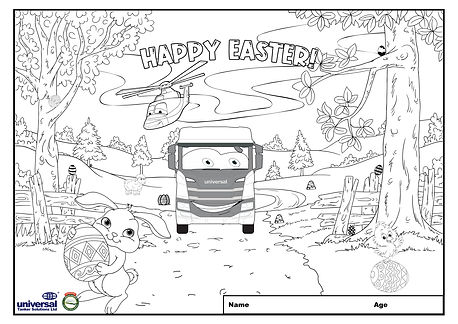 Universals Easter Colouring Competition