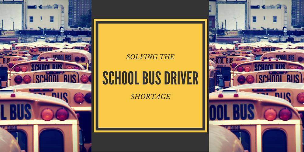 school bus driver shortage