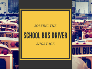 Solving the School Bus Driver Shortage