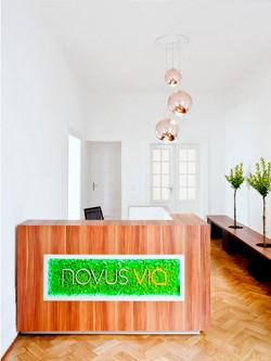 NovusVia Eingangsbereich