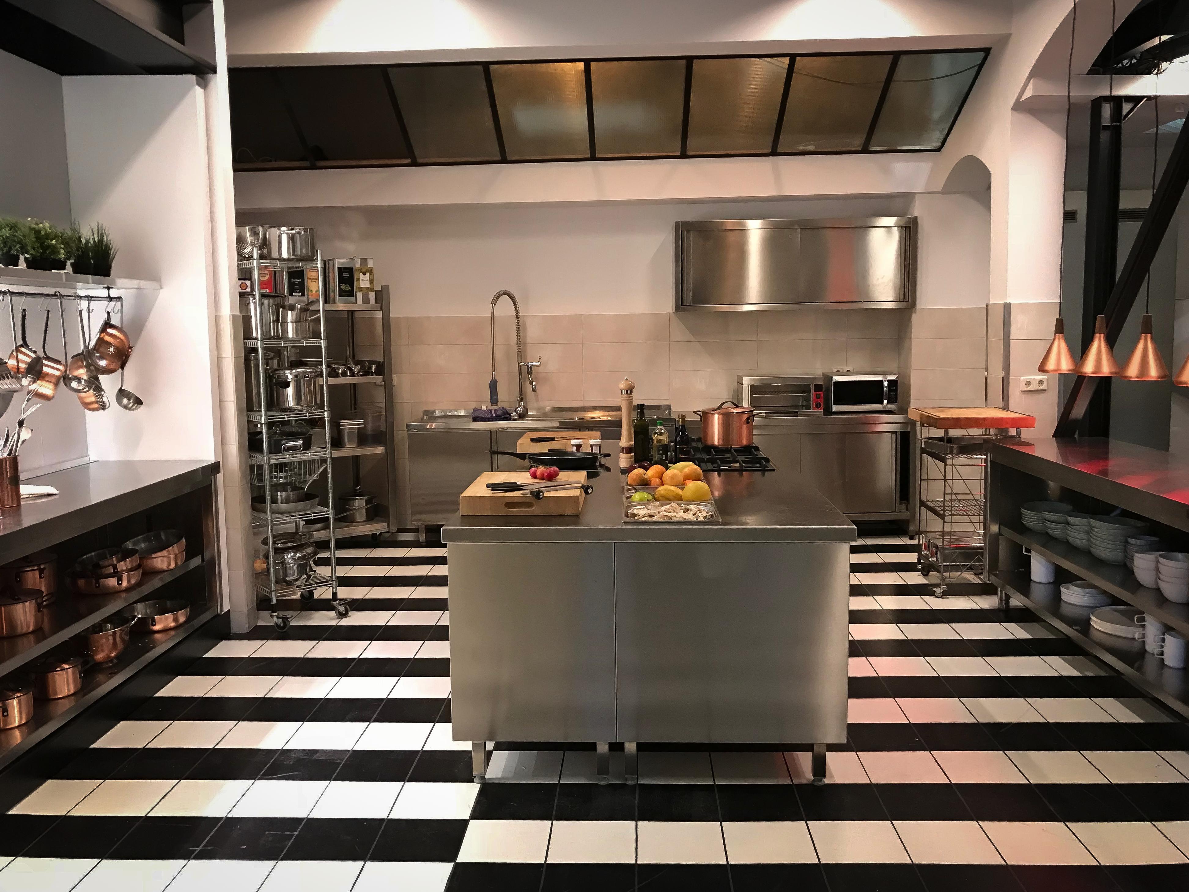 Mauerwerk-Küche