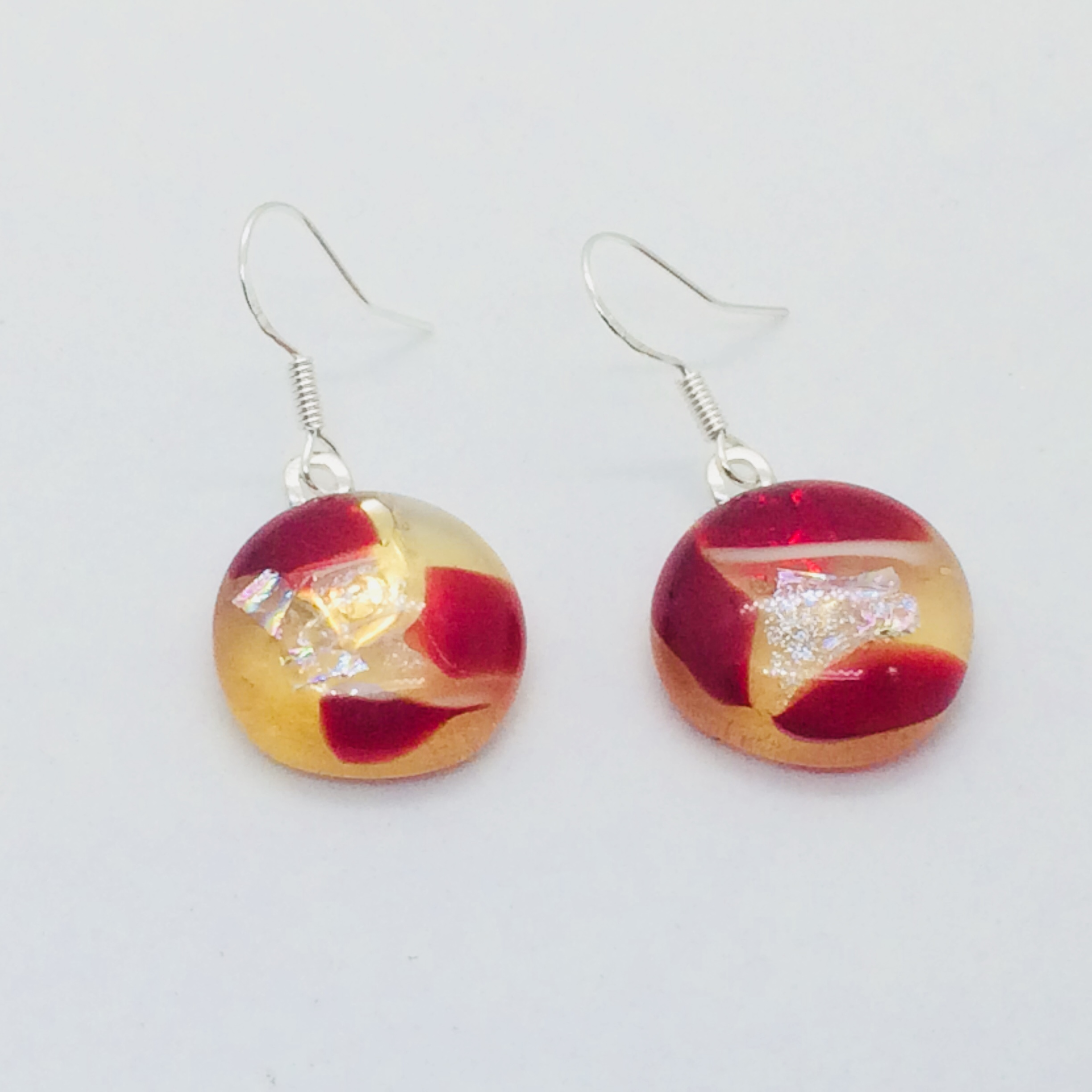 Cherry and Lemon earrings