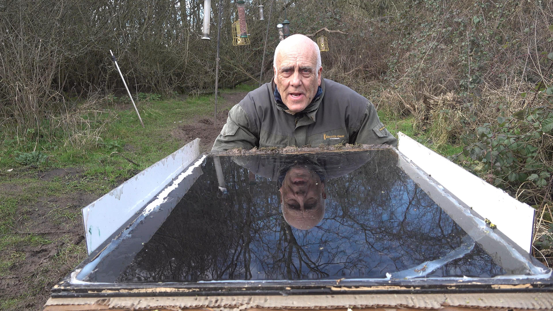 Reflection drinking pool