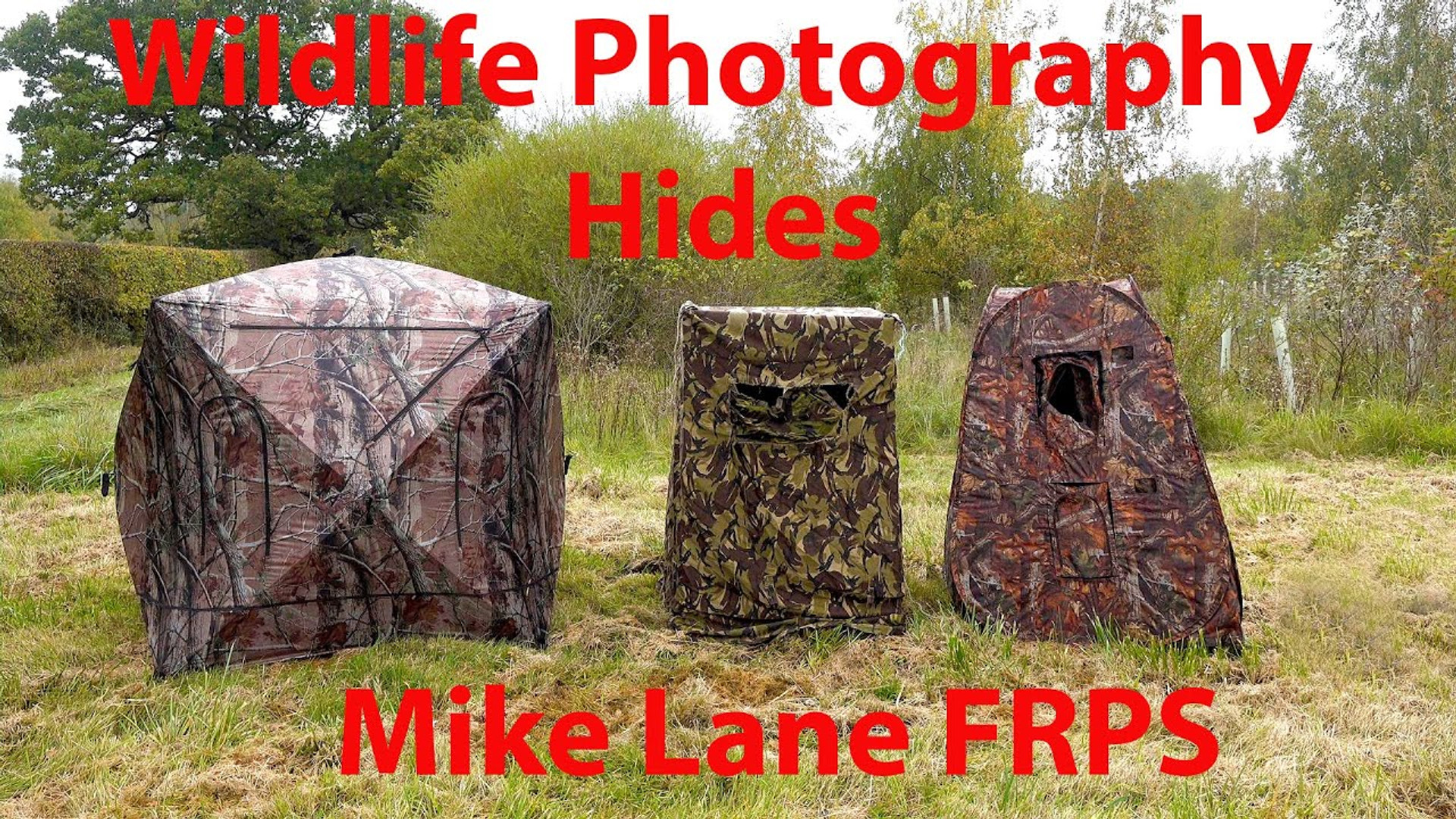 Wildlife Photography Hides