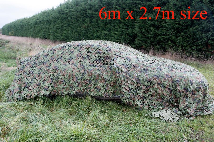 Leaf scrim on car small D0225