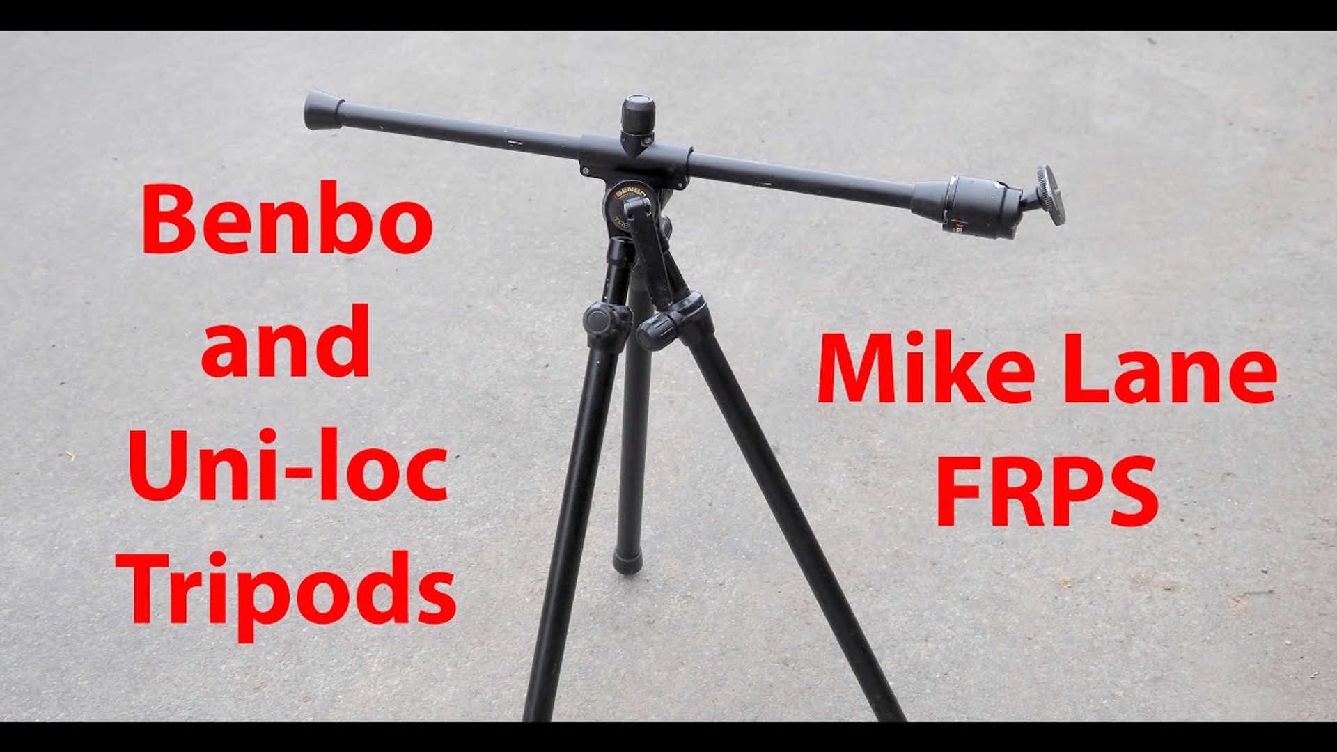 Benbo and Uni-loc tripods
