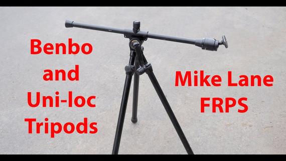 Benbo and Uni-loc tripods