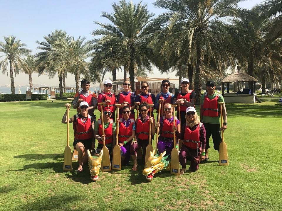 Outdoor Team Building Events in Dubai