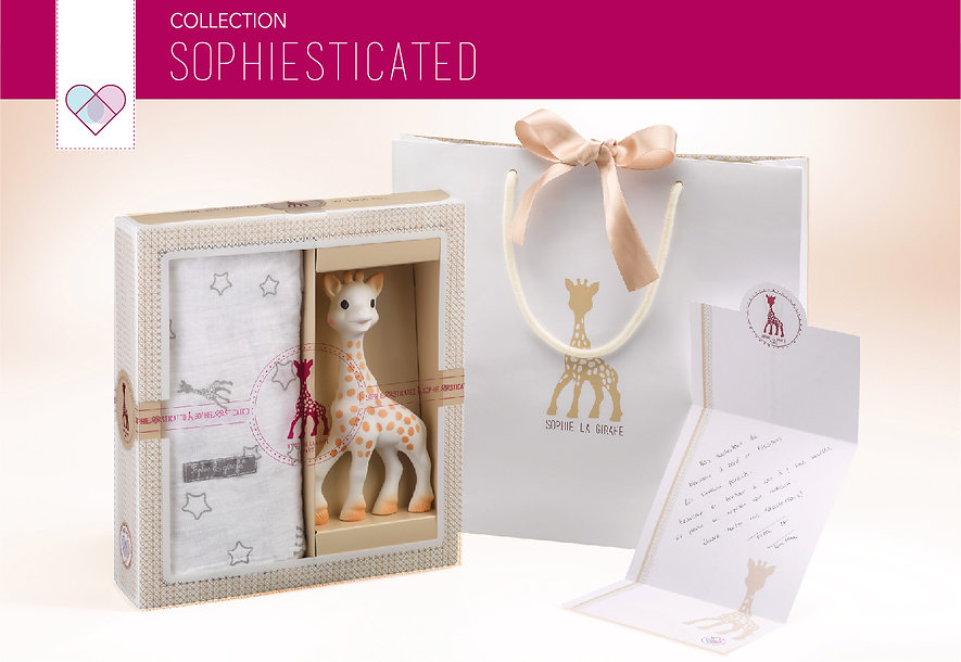 Sophiesticated Sophie la girafe collecti