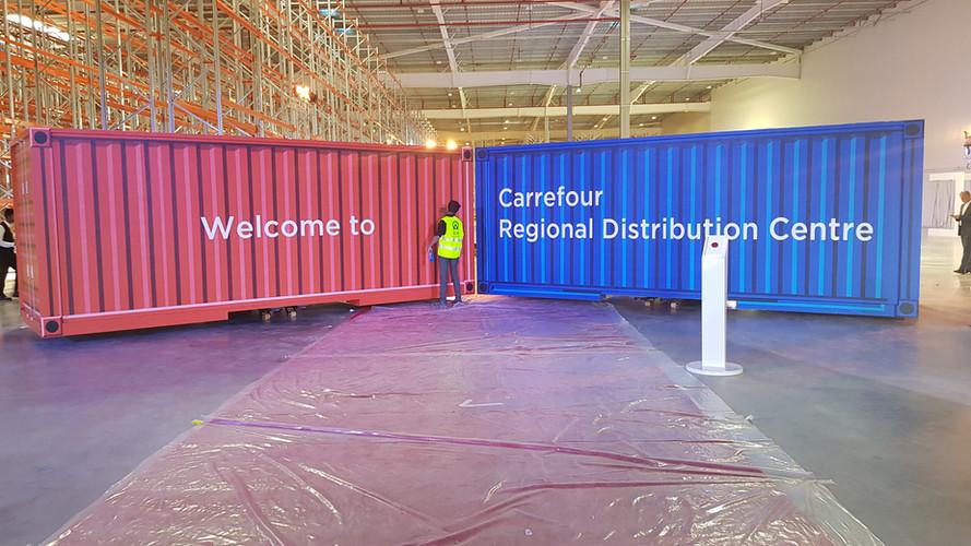 Carrefour Distribution Facility Inaugura