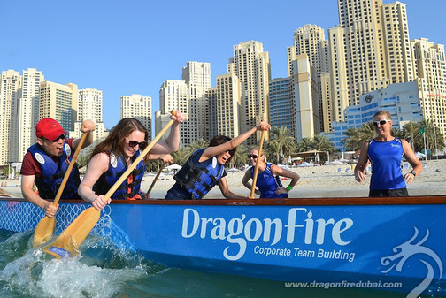 Dragon Boating In Dubai
