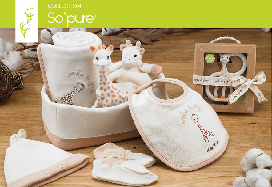 So pure Sophie la girafe collection pict