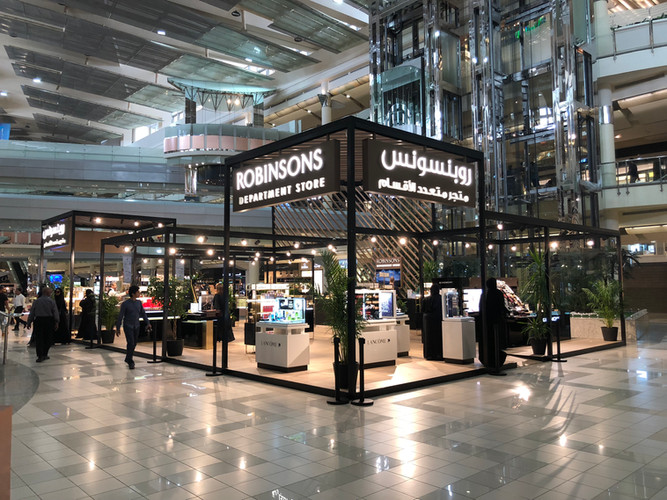 Robinson Retail Mall Kiosk