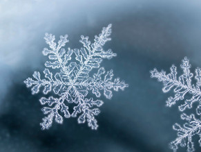 雪は天から送られた手紙である