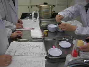 「調理学実験」卵編