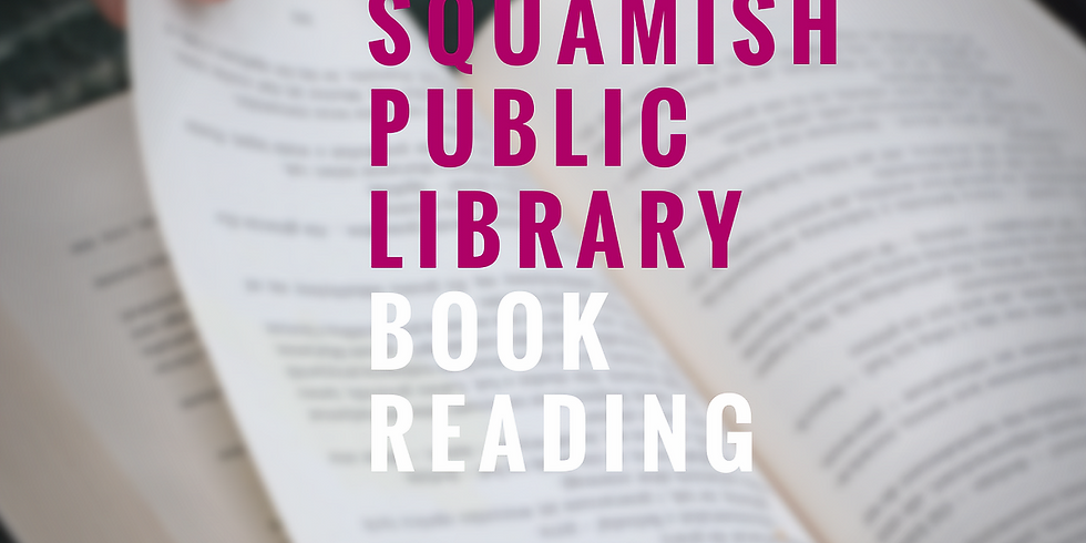 Squamish Library: Book Signing & Reading