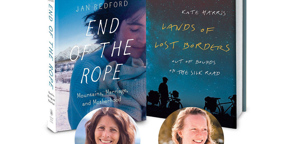 Jan Redford & Kate Harris: Talk, Q & A, and Book Signing