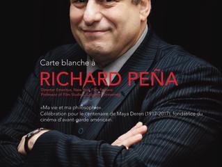 Carte blanche à Richard Peña