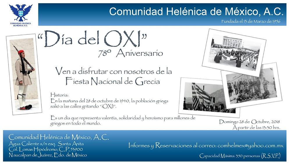 78o aniversario del Día del Oxi