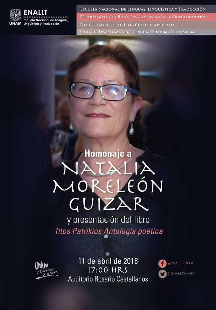 Homenaje a Natalia Moreleón