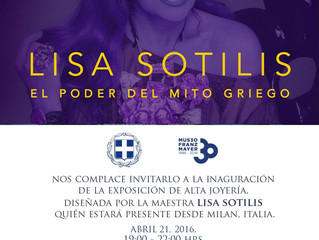 Lisa Sotilis, El poder del mito griego: Invitación