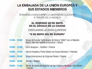"""Feria de las Culturas Amigas: Grecia en el """"Día de Europa"""""""