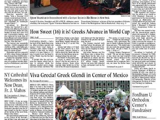 Feria de las Culturas Amigas 2014: Artículo en The National Herald